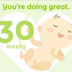 *妊娠30週目〜退屈だけど辛抱!安静生活!*