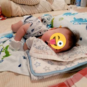 *生後3ヶ月〜首すわり寝返り大幅アップデート!*