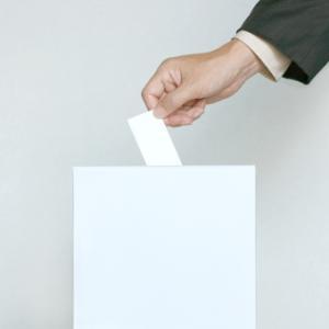 *選挙投票日でした*