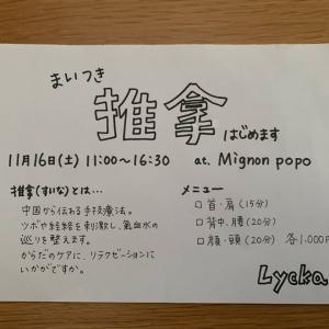 Mignon popoこれからのワークショップ