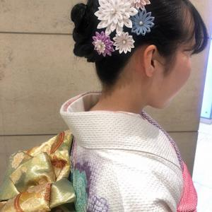 ご成人式のお嬢様♡大輪の剣菊(小さ目サイズ)