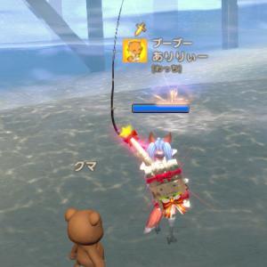 tera クマが当たったので大物自動釣りを試してみたーヾ(〃^∇^)ノ