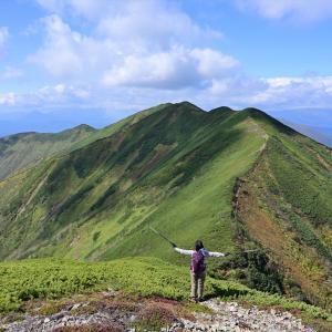【速報版】ウペペサンケ山~綺麗な稜線は今も健在~