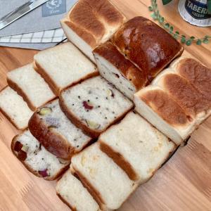 パン3種類食べ比べと クッキー作り