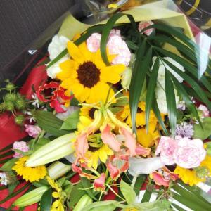 父の日の花束