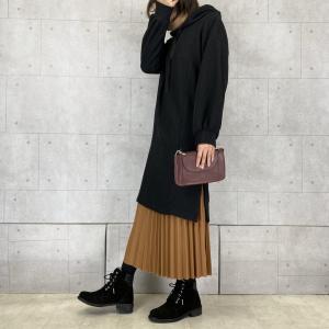 【No.024】ワンピ×スカートのレイヤードスタイル