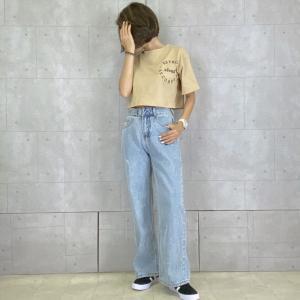 【No.069】ショート丈トップスで夏のスタイルアップコーデ