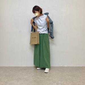 【No.085】スカートとパンツの良いとこ取りなスカンツコーデ♪