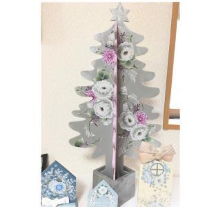 ホワイトローズのクリスマスツリー・・・♪