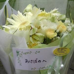9月24日 あけぼのにお花が‼️
