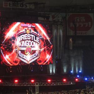 新日本プロレス 「WRESTLE KINGDOM14 in 東京ドーム」に行ってきました。