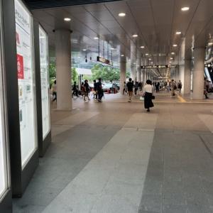 今日の名古屋駅は人が戻ってきていました。