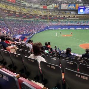 今シーズン初の野球場は、ソーシャルな野球でした。。。。。しかしながら、中日が弱すぎ。。。。