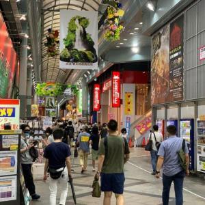 名古屋市内を見る限り、人出はコロナ前の状態に成っていますね。