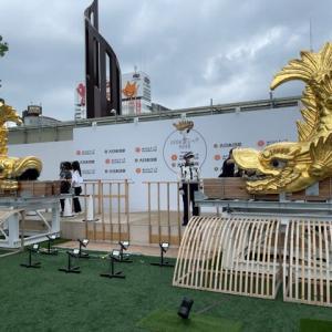 名古屋城金シャチ特別展覧を見てきました。
