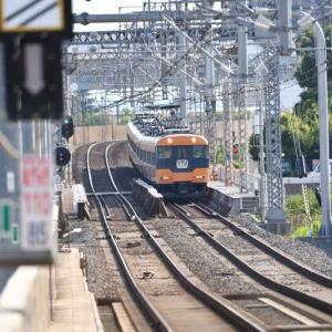 近鉄12200系臨時特急電車の撮影に名古屋の中川区に行ってきました。