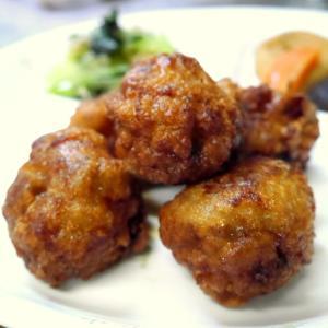 レシピ『豚バラ肉の竜田揚げ♪』と経口補水液に麿ちゃん空ちゃん♪