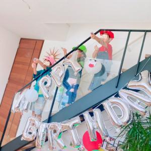 【7th B-day③】しおちゃん親子と9月の合同お誕生日会⑅◡̈*