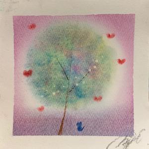 虹のセラピーアート