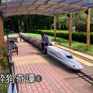 市川市動物園のミニ鉄道