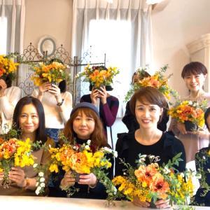 【開催レポ】邸宅ランチとお紅茶の飲み比べつきお花レッスン