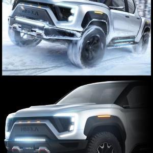 テスラに対抗、米二コラ社の電動トラック「BADGER」(バジャー)登場か?