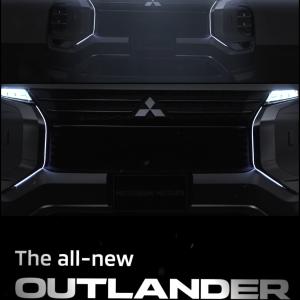 三菱新型アウトランダー2021(北米仕様)のオプションが凄い!①ダイナミックシールドイルミネーション