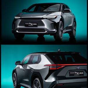 トヨタ上海で「TOYOTA bZ4X(トヨタ ビーズィーフォーエックス)」のコンセプト車両を初公開