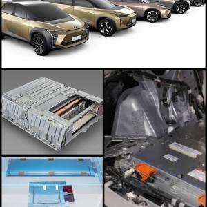 全固体電池を搭載した電気自動車(EV)の開発熱