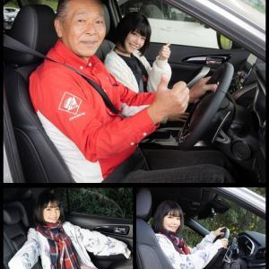 エクリプスクロスPHEに増岡さん指導で素人モデルさんが試乗するとどうなるのか?