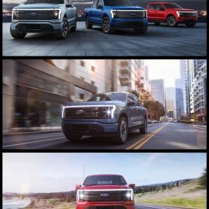 フォードの電動ピックアップトラックは、前後に巨大収納スペース!