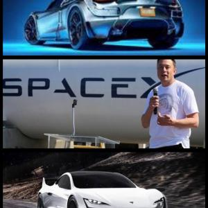 新型テスラ『ロードスター』の新グレード「スペースX ロケットスラスター」とは?