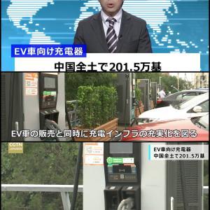 驚きの中国のEV充電器の累計設置数が200万台に!世界一の充電大国に