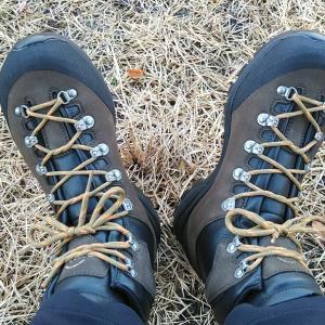 おNewのお靴de福王山♪
