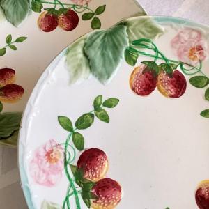 *brocante Choisy le Roi製イチゴのバルボティーヌ皿他UP~