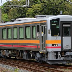 キハ120-341(大糸線更新車)後藤出場試運転 (2019/4/30)
