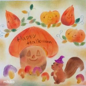 ハロウィンパステル☆森の収穫祭