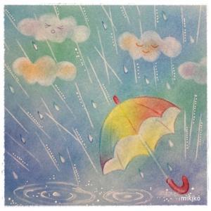 パステル☆雨の日に・・・