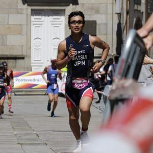 ITU主催トライアスロン世界選手権inスペイン・ポンテベドラ大会 / 夢の舞台を完走した日