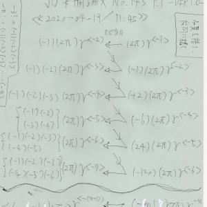 総関係理論と自然数n次元逆数円状微分 JO準備論文NO.143 P.1 -VER.1.0-
