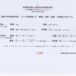 総関係理論と論理学的総関係規約 JO準備論文 NO.167