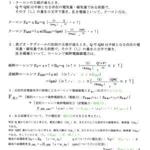 総関係理論と電磁磁電学の根幹 JO準備論文NO.126;P.1;-VER.4.0-