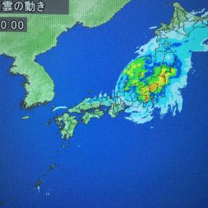 台風でインターナショナルスクールイベントが延期に