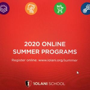 ハワイ名門イオラニスクールのサマースクール発表