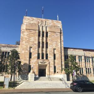 クィーンズランド大学に行ってきました。