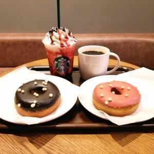 【スタバ】売り切れ!からの新作ドーナツ♪