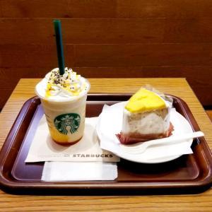 新作【スタバ】スイートポテト シフォンケーキ♡