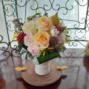 10月のハロウィンフラワーレッスンのお花たち!【豊田市フラワー教室】
