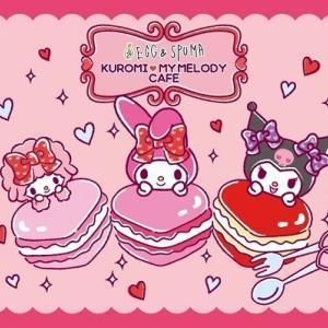EGG&SPUMA×KUROMI♡MY MELODY CAFE