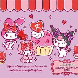 EGG&SPUMA×KUROMI♡MY MELODY CAFE 後期メニュー&ヒルトン大阪 不思議なスイーツの森~ハローキティ・マイメロディ・クロミ コラボティーパーティ~